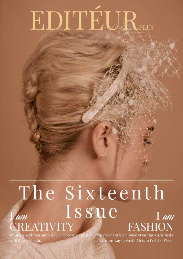 Editéur Plus - The Sixteenth Issue
