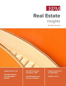 Real Estate Insights, Fall 2018