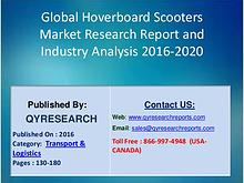 Global Hoverboard Scooters Market 2016 Segmentation by Application