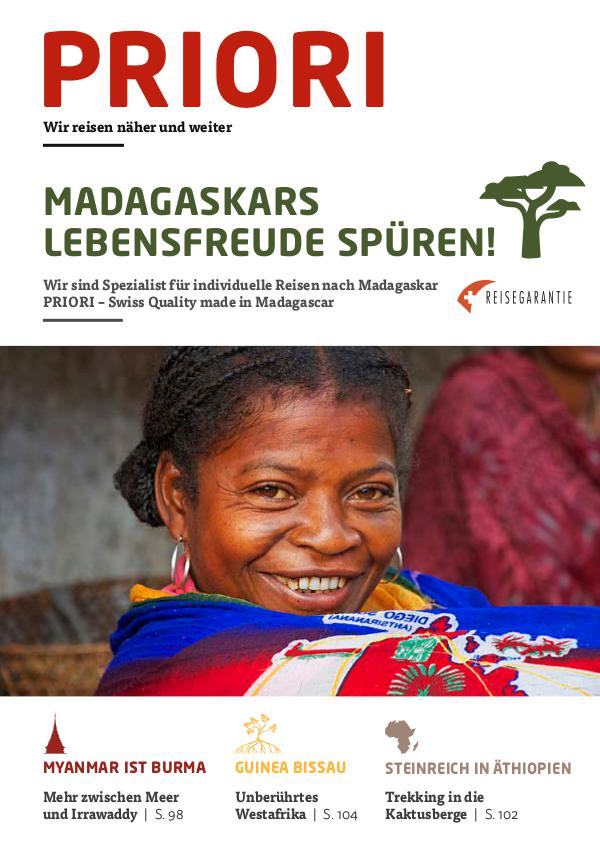 PRIORI Reisen - Madagaskars Lebensfreude spüren! 2017