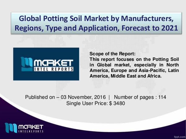 Analysis of Evolving Business Models in Global Potting Soil Market Analysis of Evolving Business Models