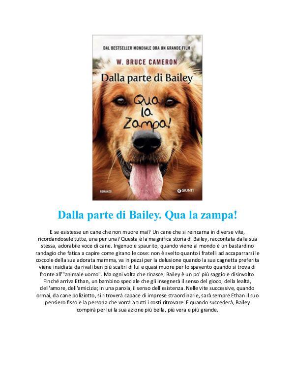 [DOWNLOAD] PDF [DOWNLOAD] PDF Dalla parte di Bailey Qua la zampa
