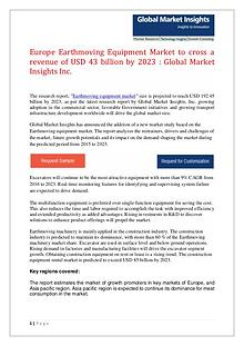 Earthmoving Equipment market report for 2017-2024