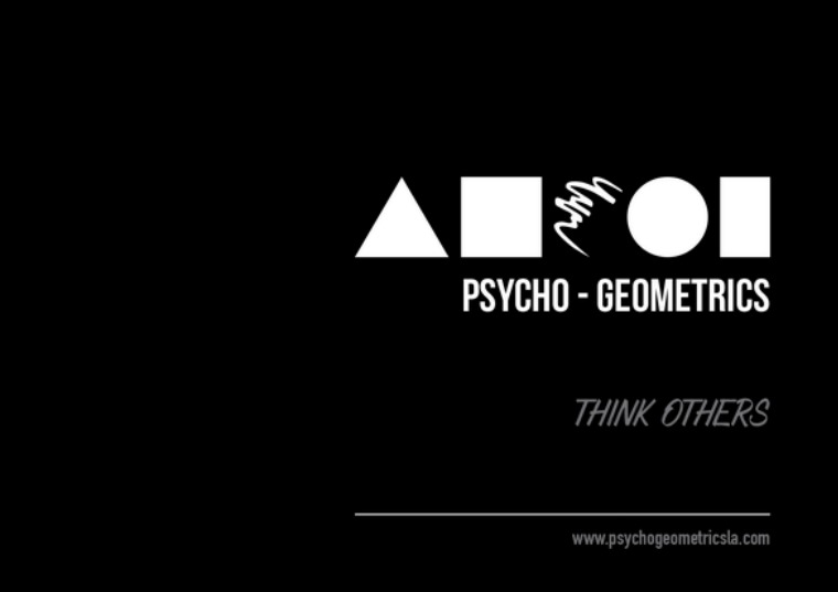 Productos Psycho-Geometrics para Latinoamérica Productos Psycho - Geometrics para Latinoamérica