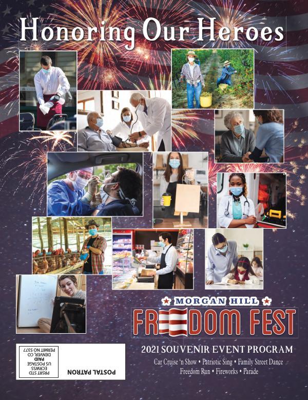 Freedom Fest 2021 Morgan Hill Freedom Fest July 2021