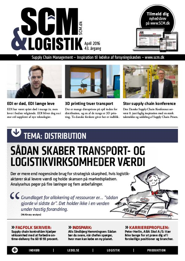 SCM & LOGISTIK 04. 2016