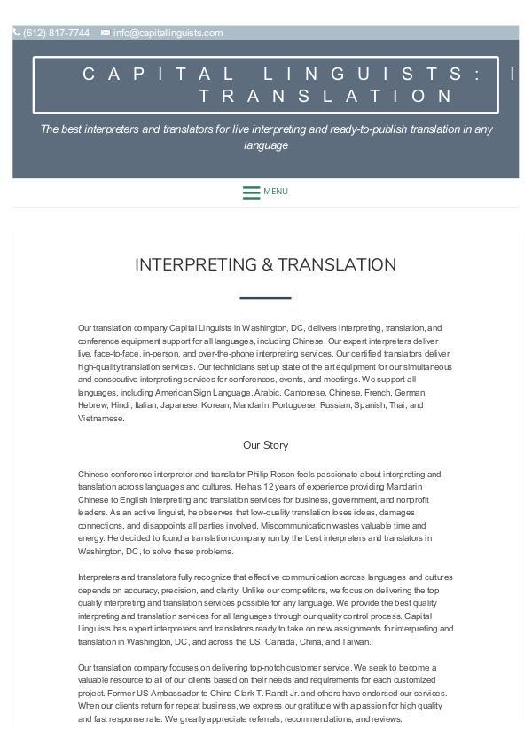 Best interpreters & translators for interpreting and translation Best interpreters & translators for interpreting a