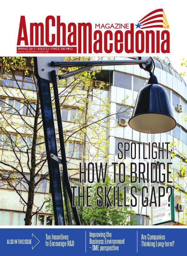 AmCham Macedonia Spring 2017 (Issue 53)