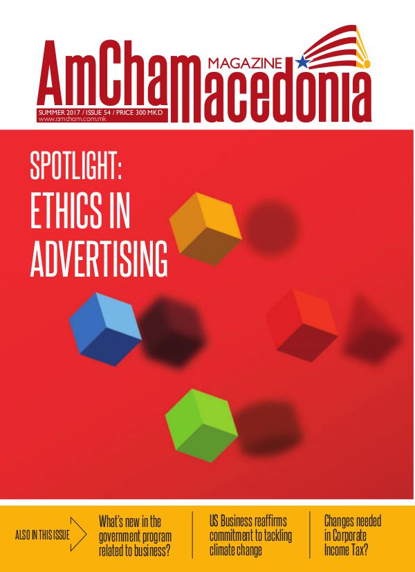 AmCham Macedonia Summer 2017 (Issue 54)