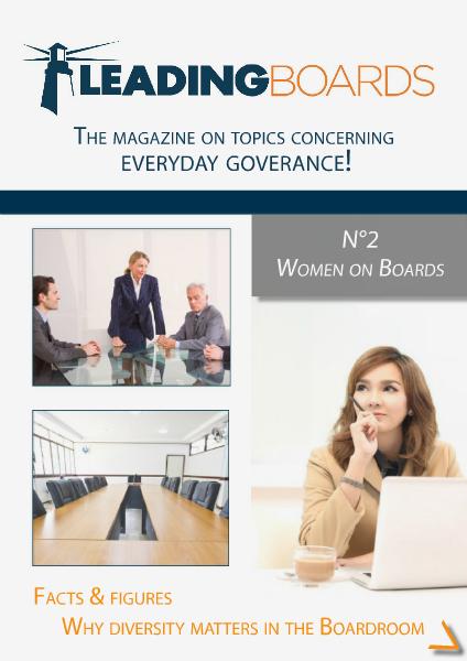 Leading Boards N°2 Women on Boards