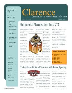Clarence Cardinal Newlsetter 7/2013