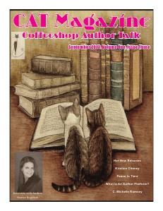 Coffeeshop Author Talk Magazine September 2013