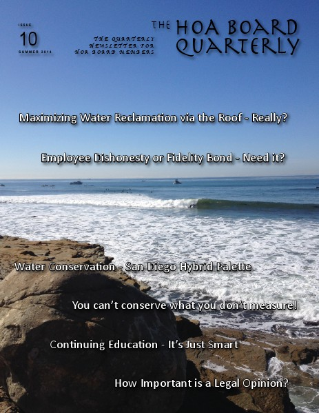 The HOA Board Quarterly Summer 2014 Issue #10