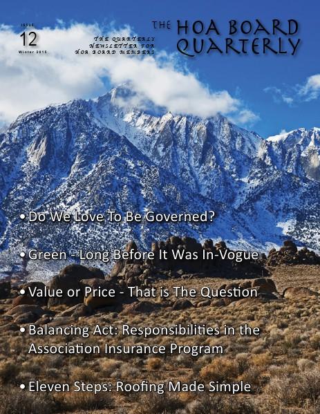 Winter 2015 Issue #12