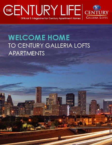 Century Galleria Lofts E-Magazine 1