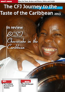 The Culinary Federation of Jamaica road to Taste of the Caribbean 2013
