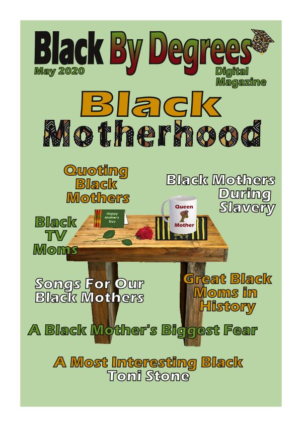 Black By Degrees Magazine May 2020