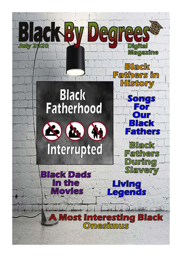 Black By Degrees Magazine July 2020