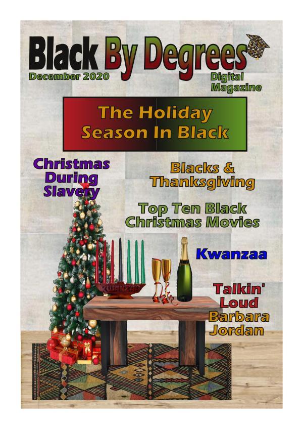 Black By Degrees Magazine December
