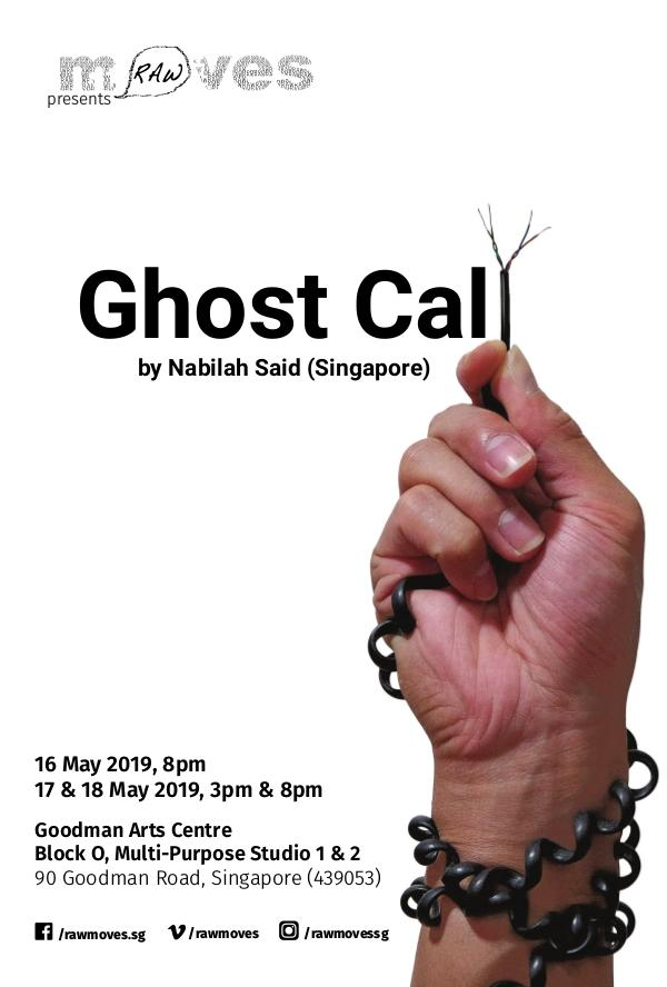 RAW Moves presents Ghost Call GHOST CALL DIGITAL