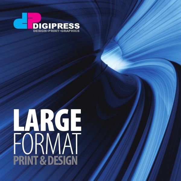 Digipress Brochure Digipress Large Format Brochure
