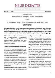 Neue Debatte - Beiheft #003 - 04/2017