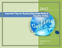 Important Tips for Buying Disposable Medical Supplies Online