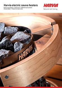 Katalog HARVIA saunová kamna elektrická
