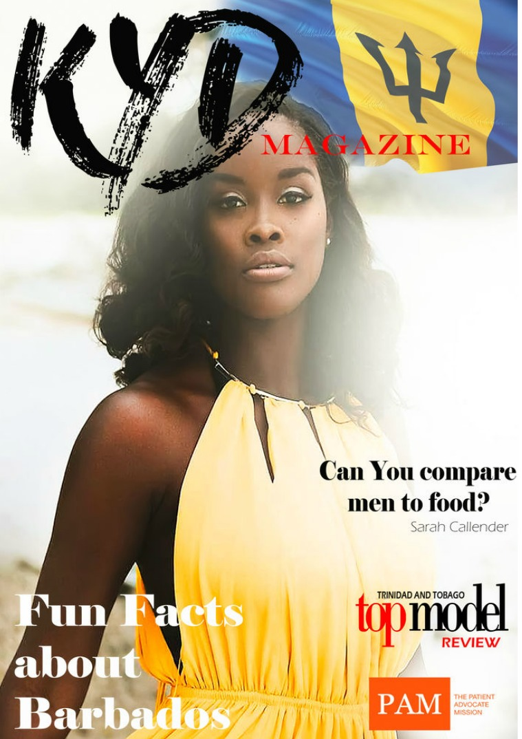 Kerby Young Designs Magazine KYD Magazine Barbados Issue.