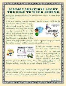 Common Questions About The Bike To Work Scheme