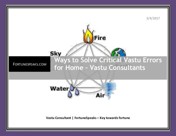 Ways to Solve Critical Vastu Errors for Home – Vastu Consultants Ways to Solve Critical Vastu Errors for Home – Vas
