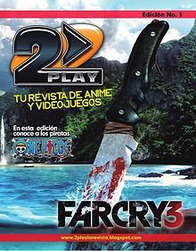 2Play La revista de Videojuegos y Anime Hondureña
