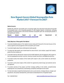 New Report Covers Global Neuropathic Pain Market 2017- Forecast To 20