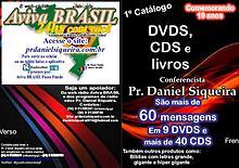 Catálogo Conferencista Pr. Daniel Siqueira