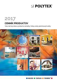 Cenník POLYTEX 2017