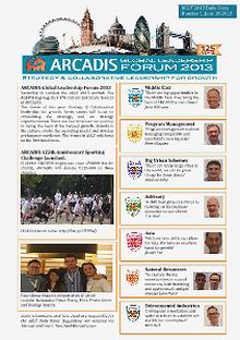 ARCADIS Global Leadership Forum 2013