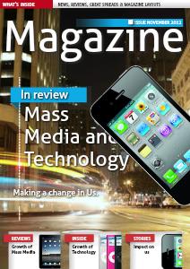Mass Media And Technology July. 2013