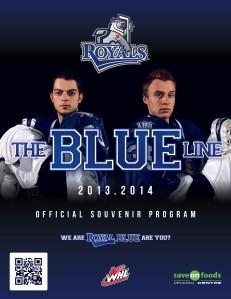 The Blue Line - Victoria Royals Game Program Vol II April 7, 2014