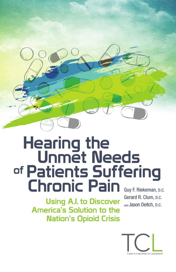 Hearing the Unmet Needs of Patients Suffering Chronic Pain 3905 CLUM opioid ebook TCL single pages no crops 1