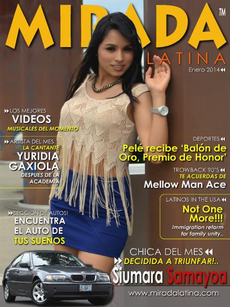 Mirada Latina Magazine Enero 2014