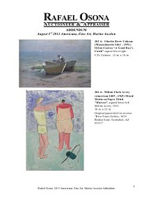 Rafael Osona's Annual Auction Catalog 2019