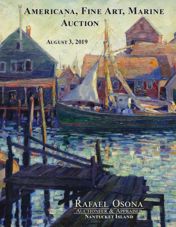 Rafael Osona's Annual Auction Catalog Rafael Osona Annual Catalog 2019