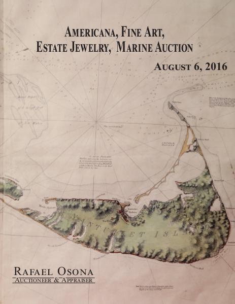 Rafael Osona's Annual Auction Catalog 2019 2016