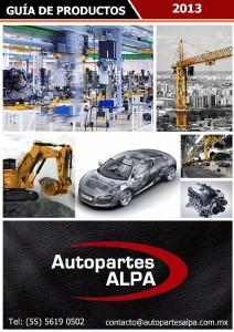 Guía de Autopartes ALPA Jul. 2013