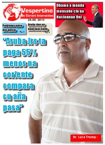 E-Vespertino Edicion 24 di September 2013