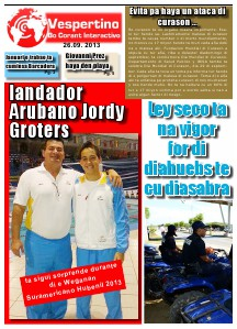 E-Vespertino Edicion 26 di September 2013