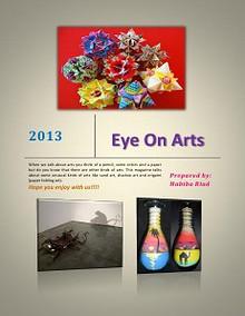 Eye on arts