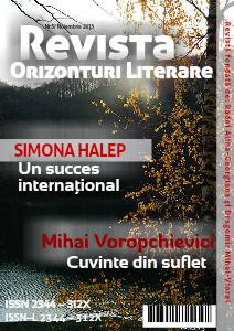 Revista Orizonturi Literare - noiembrie 2013