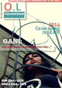Revista Orizonturi Literare ianuarie 2014