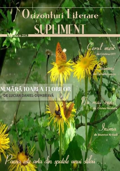 Revista Orizonturi Literare Supliment februarie 2014